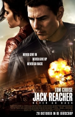 Filmposter van de film Jack Reacher: Never Go Back (2016)