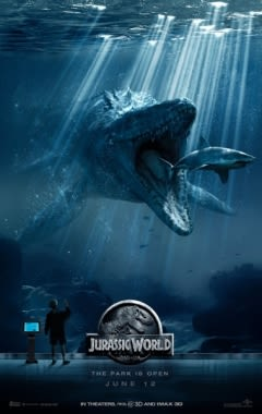 Filmposter van de film Jurassic World (2015)