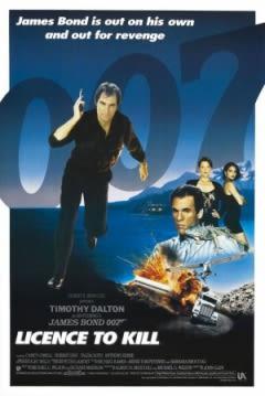 Filmposter van de film Licence to Kill (1989)