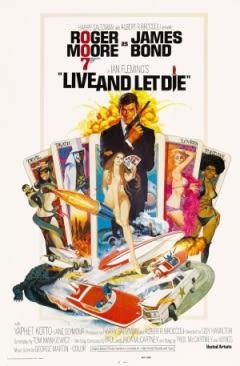 Filmposter van de film Live and Let Die