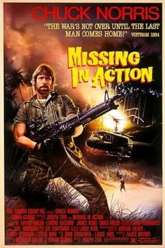 Filmposter van de film Missing in Action (1984)