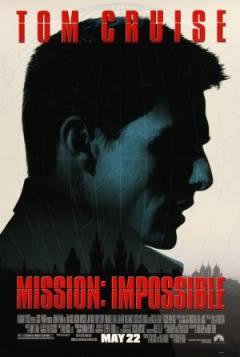 Filmposter van de film Mission: Impossible (1996)