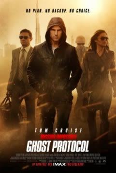 Filmposter van de film Mission: Impossible - Ghost Protocol (2011)