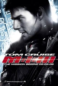 Filmposter van de film Mission: Impossible III (2006)