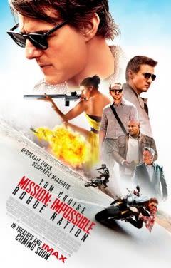Filmposter van de film Mission: Impossible - Rogue Nation (2015)