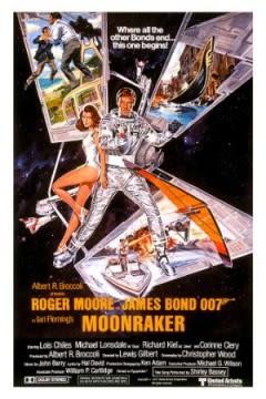 Filmposter van de film Moonraker (1979)