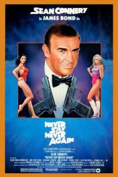 Filmposter van de film Never Say Never Again (1983)