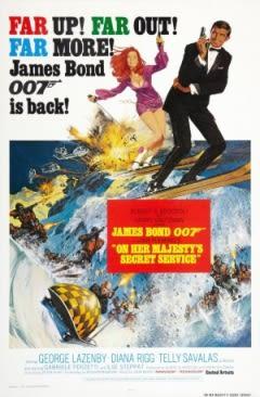 Filmposter van de film On Her Majesty's Secret Service (1969)