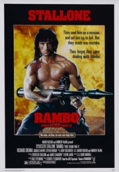 Filmposter van de film Rambo: First Blood Part II (1985)