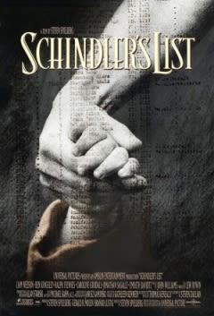 Filmposter van de film Schindler's List (1993)