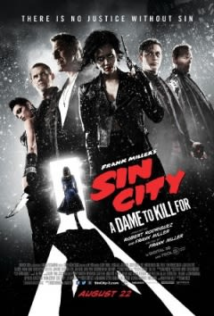 Filmposter van de film Sin City: A Dame to Kill For (2014)