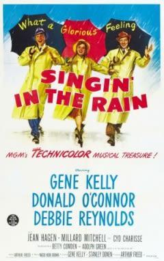 Filmposter van de film Singin' in the Rain