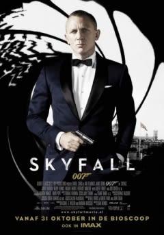 Filmposter van de film Skyfall (2012)