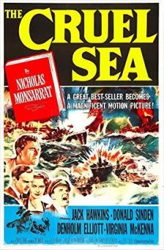 Filmposter van de film The Cruel Sea (1953)