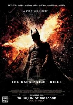 Filmposter van de film The Dark Knight Rises (2012)