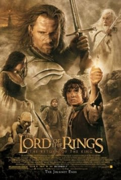Filmposter van de film The Lord of the Rings: The Return of the King
