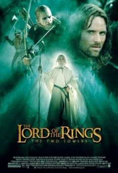 Filmposter van de film The Lord of the Rings: The Two Towers