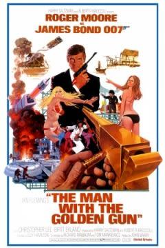 Filmposter van de film The Man with the Golden Gun