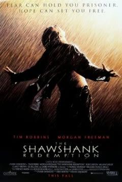 Filmposter van de film The Shawshank Redemption