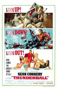 Filmposter van de film Thunderball (1965)