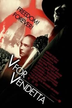 Filmposter van de film V for Vendetta (2005)