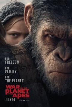 Filmposter van de film War for the Planet of the Apes (2017)