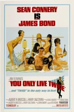 Filmposter van de film You Only Live Twice (1967)
