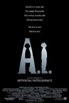Filmposter van Artificial Intelligence: AI