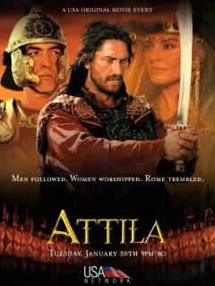 Filmposter van Atilla the Hun