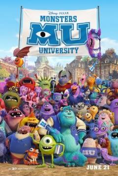 Filmposter van de film Monsters University