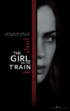 Filmposter van The Girl on the Train
