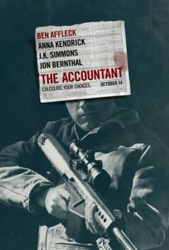 Filmposter van The Accountant