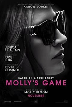 Filmposter van Molly's Game