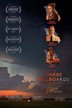 Filmposter van Three Billboards Outside Ebbing, Missouri