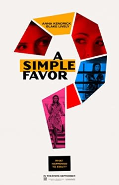 Filmposter van A Simple Favor