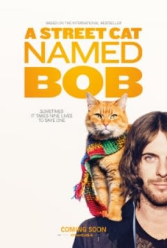 Filmposter van A Street Cat Named Bob