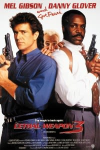 Filmposter van Lethal Weapon 3