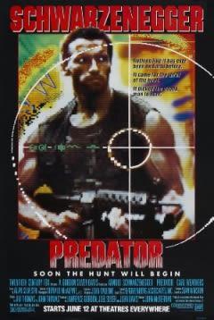 Filmposter van Predator