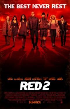 Filmposter van RED 2