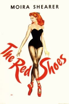 Filmposter van de film The Red Shoes