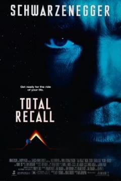 Filmposter van Total Recall