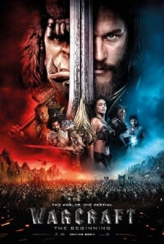 Filmposter van Warcraft: The Beginning