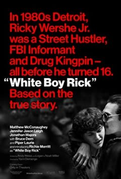 Filmposter van de film White Boy Rick