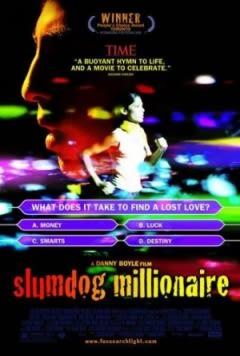 Filmposter van de film Slumdog Millionaire (2008)
