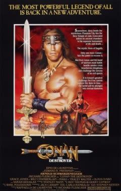 Filmposter van de film Conan the Destroyer (1984)