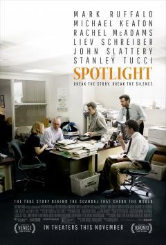 Filmposter van de film Spotlight (2015)