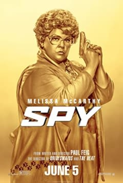 Filmposter van de film Spy (2015)