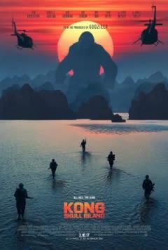 Filmposter van de film Kong: Skull Island (2017)