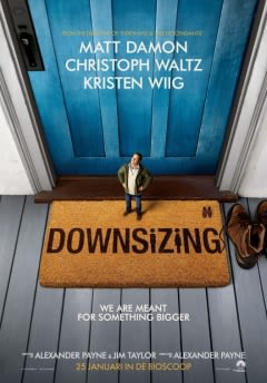 Filmposter van de film Downsizing