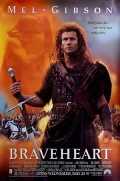 Filmposter van de film Braveheart (1995)